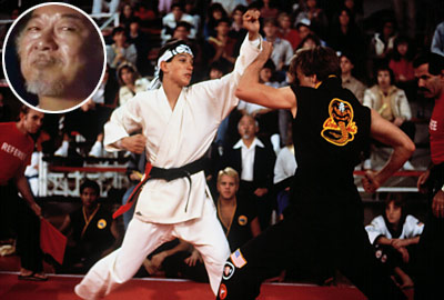 Ralph Macchio, The Karate Kid