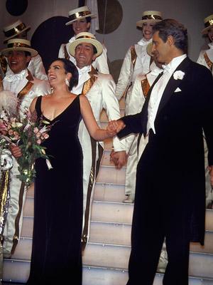 Liza Minnelli, Michael Nouri