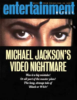 Michael Jackson | Michael Jackson's Black or White Blues Michael Jackson's controversial, epic 11-minute music video caught everyone's attention. ''Was it an ingenuous artistic expression or part of…