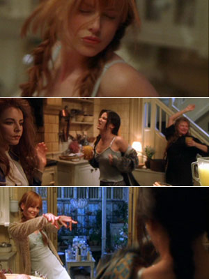 Practical Magic | Gal pals in rom-coms have a tendency to prove their friendship with elaborate, embarrassing activities that usually involve music. EXAMPLE: The infamous midnight margarita scene…