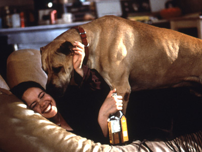 Janeane Garofalo | Dogs are man's best friend, an extra dose of cute whenever the script needs it, and creatures that can tell us when a questionable character…