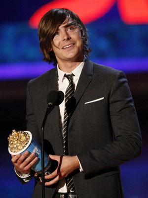 Zac Efron, MTV Movie Awards