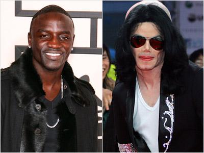 Akon, Michael Jackson