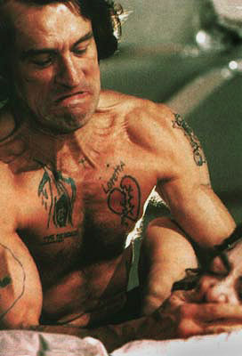 Cape Fear, Robert De Niro | Robert De Niro Cape Fear (1991) Robert Mitchum was pretty scary in the original 1962 Cape Fear as Max Cady, an ex-con who seeks vengeance…