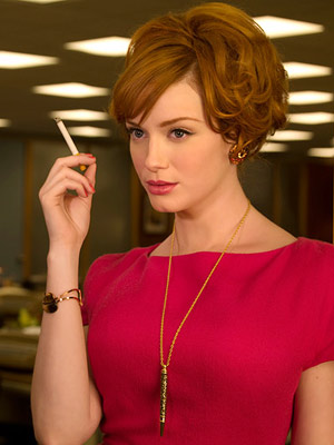 Mad Men, Christina Hendricks | I love that Katherine Heigl got snubbed! Not so happy about the omission of Mad Men 's CHRISTINA HENDRICKS . — LA