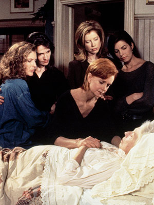 Sisters | SISTERS (1991-1996) The soapy lady drama (which starred Swoosie Kurtz, Sela Ward, Julianne Phillips, and Patricia Kalember) showcased some of George Clooney's finest work and…