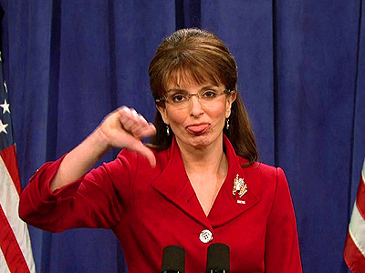 Tina Fey | The moment Palin stepped into the spotlight, one thing seemed inevitable: Tina Fey was going to have to play her on SNL . The Sept.…