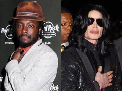 Will I Am, Michael Jackson