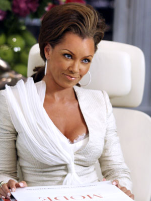 Vanessa Williams, Ugly Betty | ''Did you just gesture at me when you said Kwanzaa?'' —Wilhelmina (Vanessa Williams) giving her boss Daniel (Eric Mabius) a hard time during a brainstorming…
