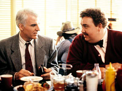 Planes, Trains and Automobiles, John Candy, ... | Pilgrims Trying every means available to get from New York to Chicago in time for the holiday, businessman Neal Page (Steve Martin, left) finds himself…