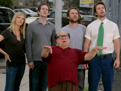 It's Always Sunny in Philadelphia | ''If Always Sunny gets a nomination, I'll celebrate by huffing some glue and becoming illiterate.'' — Wojo '' Always Sunny belongs in the Best Comedy…