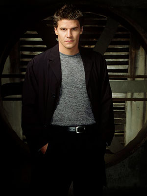 Angel, David Boreanaz | Angel (1999-2004) This Buffy spin-off starred David Boreanaz as a private-eye vampire cursed to live his life with a soul, thereby morally incapable of embracing…