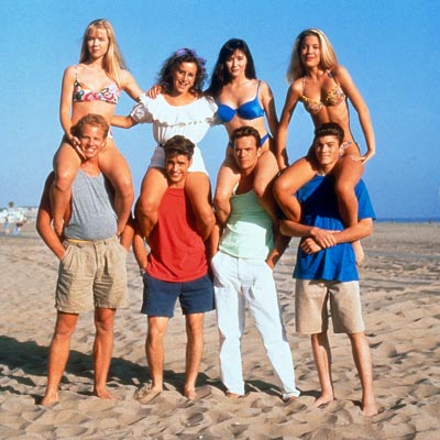 Beverly Hills, 90210 | Beverly Hills, 90210 (1990-2000) The first modern teen drama tweaked Spelling's nighttime soap formula for younger audiences — the pretty people and rich surroundings were…