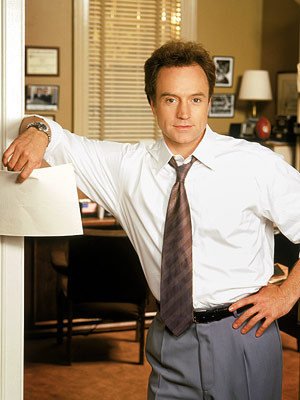 Bradley Whitford, The West Wing   ''Victory is mine, victory is mine! Great day in the morning people, victory is mine! I drink from the keg of glory, bring me the…