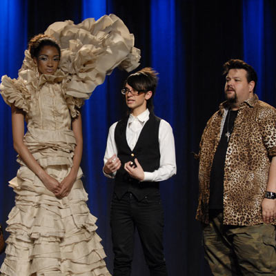 Project Runway, Project Runway (Season 4 -- Episode 8: On Garde!) | HOT Christian Siriano and Chris March's avant-garde gown (season 4, episode 8) The pairing of Christian ''Fierce'' Siriano and witty Chris March could only yield…