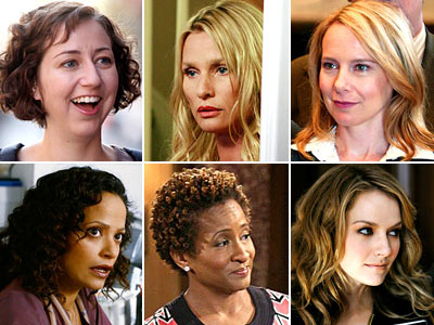 Amy Ryan, Wanda Sykes, ... | NEXT PAGE: The EWwy nominees for Best Comedy Series