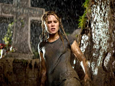 Drag Me to Hell, Alison Lohman | In his candy-colored ghouls-gone-wild nightmare, Sam Raimi surrounds a comely blond lass (Alison Lohman) with demons that seem to be erupting right out of her…