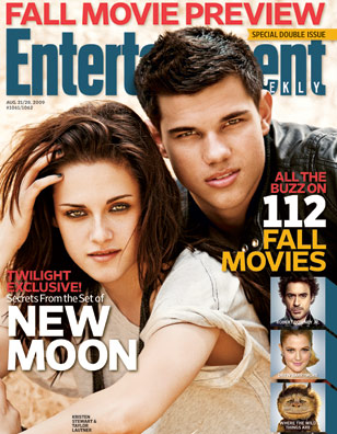 Taylor Lautner, Kristen Stewart, ... | ''I told Summit that they could probably get a talking chimp to direct New Moon , and it would still do well.'' For another exclusive…