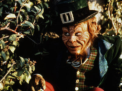 Leprechaun, Warwick Davis | Leprechaun (1993) There's no pot of gold at the end of this movie where the little green antagonist (Warwick Davis) isn't even as frightening as…