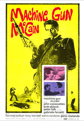 Action movie star pairings don't get a lot unlikelier than John Cassavetes and Britt Ekland. But that's the combo you'll get in this Italian mobster…
