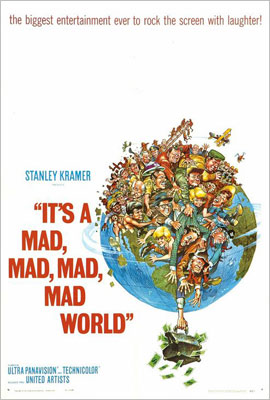It's a Mad, Mad, Mad, Mad World | Tarantino loves this Jack Davis poster, which he calls, simply ''a classic.'' The film? Maybe less so.