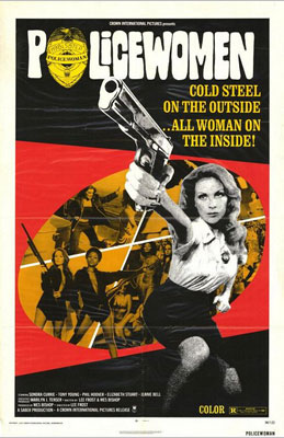 ''Cold Steel on the outside...All Woman on the Inside!'' That's Sondra Currie's Lacy Bond in this sexploitation-with-a-badge cult classic from Lee Frost, the same fella…