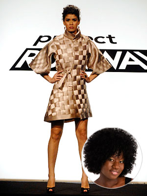 Project Runway | HOT Korto Momolu's seat-belt coat (season 5, episode 7) How did Korto respond to the challenge of stripping Saturn hybrids for parts? Why, by driving…