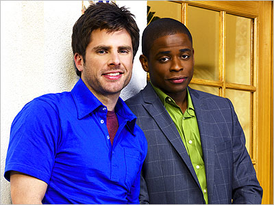 Psych, Dule Hill, ... | Given that Psych — USA's frothy detective show starring James Roday and Dulé Hill as charlatanish detectives Shawn Spencer and Burton ''Gus'' Guster — is…