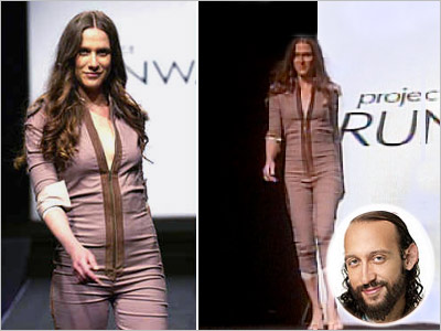 HOT MESS Santino Rice's makeover of Kara Janx (season 2, episode 10) Once again, Santino just couldn't resist a little envelope pushing on the catwalk.…