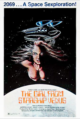 A.k.a., The Sexplorer ; a.k.a., Diary of a Space Virgin . Here's one that Tarantino programs on his racier grindhouse movie nights. A beauty from…