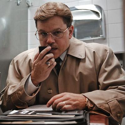 Matt Damon, The Informant!
