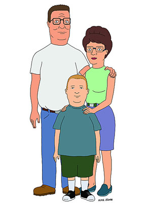 King of the Hill | My all-time favorite episode is when Peggy goes to the Boggle tournament and poor Hank is torn between supporting her and going to the lawnmower…
