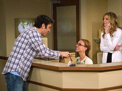 How I Met Your Mother, Britney Spears, ... | (Season 3, 2008) The glorious Sarah Chalke is usually enough to recommend something, and her appearance here as Stella, a dermatologist Ted is crushing on,…