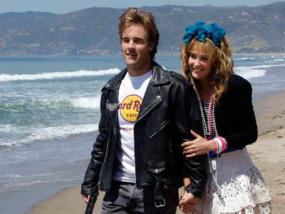 How I Met Your Mother, Cobie Smulders, ... | (Season 3, 2008) James Van Der Beek guest stars as Robin's ex-boyfriend, causing her to regress back to high school, a condition Marshall dubs ''revertigo.''…