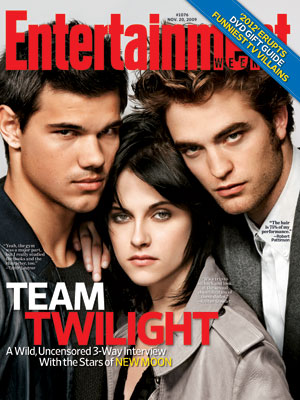 The Twilight Saga: New Moon | For more of our interview with the stars of New Moon , plus a look at which actors they view as role models, pick up…