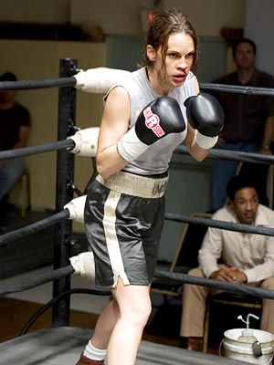 Million Dollar Baby, Hilary Swank | Hilary Swank ( Million Dollar Baby , 2004) In the early scenes of Clint Eastwood's movie, Swank's Maggie Fitzgerald looks to be in danger of…