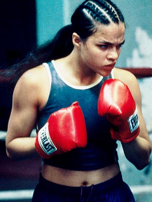 Girlfight, Michelle Rodriguez | Michelle Rodriguez ( GirlFight , 2000) The Lost star's first role established her persona as a tough-as-nails broad, and she looked natural trading punches in…