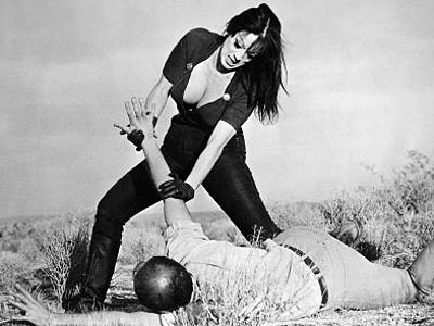 Faster, Pussycat! Kill! Kill! | NO. 15: TURA SATANA as Varla in Faster, Pussycat! Kill! Kill! (1965) WHO IS SHE? In Russ Meyer's boobsploitation classic, Varla and two go-go dancer…