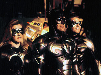 Chris O'Donnell, George Clooney, ... | There are nipples on the Batsuit. Nipples. On. The. Bat. Suit. — Marc Bernardin