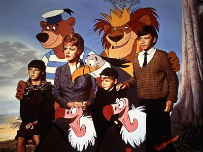 Bedknobs and Broomsticks (1971) In this Disney musical, Angela Lansbury is a crisply-coiffed fussbudget who studies witchcraft and zooms across WWII England on a flying…
