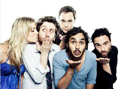 Jim Parsons, Kaley Cuoco, ... | KALEY CUOCO, SIMON HELBERG, JIM PARSONS, KUNAL NAYYAR, AND JOHNNY GALECKI, The Big Bang Theory