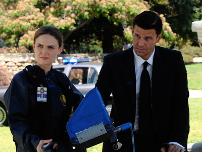 Bones | Bones Season 5 premiere recap: ''This all works out eventually'' I got giddy when Booth took Cam out for a drink so he could confide…