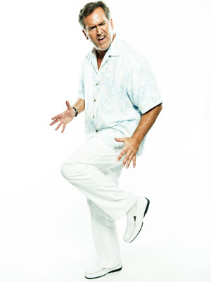 Bruce Campbell | BRUCE CAMPBELL, Cloudy with a Chance of Meatballs and Burn Notice