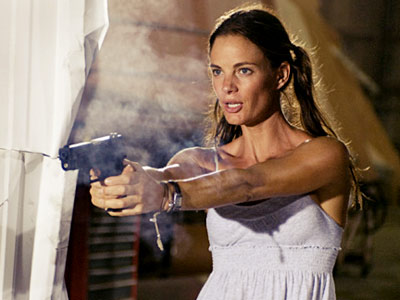 Burn Notice, Gabrielle Anwar | GABRIELLE ANWAR, Burn Notice What's brilliant about her: In the realm of don't-mess-with-them female characters on TV, Anwar's Fiona ranks up there with the best…