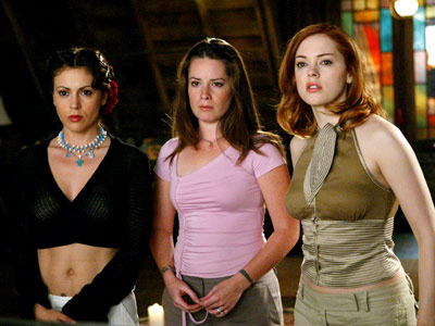 Charmed | Charmed (1998-2006) Dubbed ''the Charmed Ones,'' Phoebe (Alyssa Milano), Piper (Holly Marie Combs), Prue (Shannen Doherty), and Paige (Rose McGowan, brought in after Prue was…