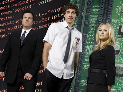 Chuck | ''C'mon! Watch the last arc of the season introducing Chuck's dad, Chevy Chase's Steve Jobs-inspired, computer-mogul bad guy, and Chuck's evolution from nerd to spy…