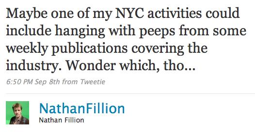 fillion tweet