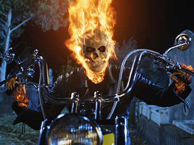 Ghost Rider | Sure, it was better than Wicker Man , but this Nicolas Cage-headlined flick — the tale of Marvel's motorcycle-riding, flame-topped superhero Johnny Blaze, who sold…
