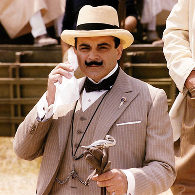 David Suchet | David Suchet Poirot (1989-present) Agatha Christie's Belgian expatriate strolls through '30-era London on the trail of political assassins, tomb raiders, and a serial killer with…