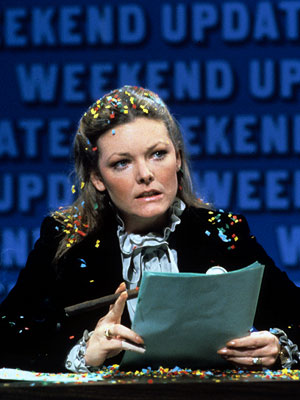 Jane Curtin, Saturday Night Live   Chevy Chase's replacement would later claim that doing Weekend Update kept her ''sane,'' because it meant she didn't feel the need to plead for airtime…